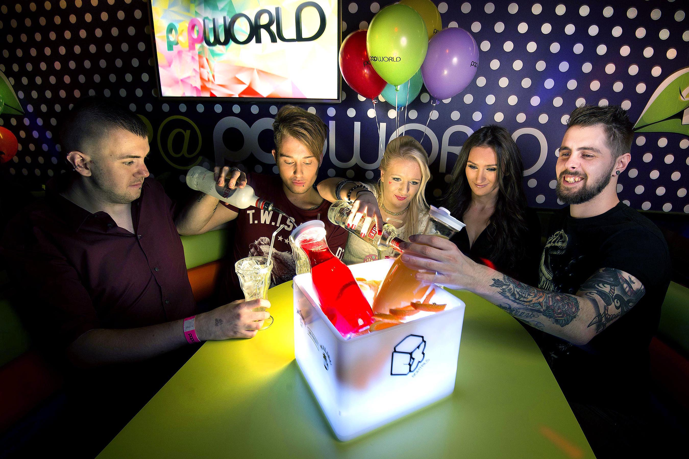 PR Photo of PopWorld Stonegate Pub Co ©UNP