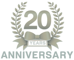 UNP 20th Anniversary Badge