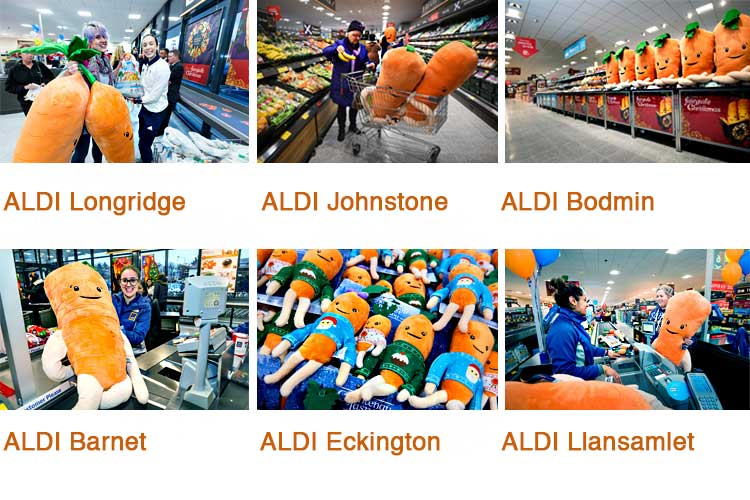 Photos showing Aldi supermarket in various parts of UK. Photos: ©UNP