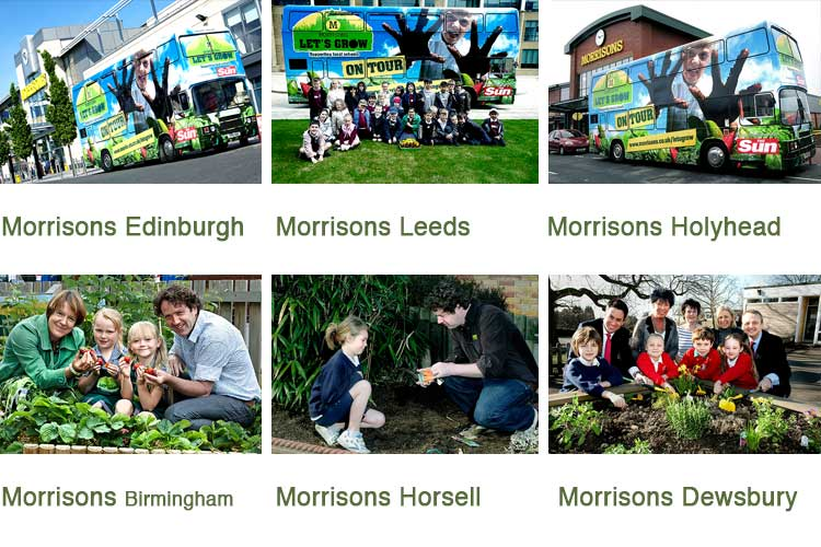 Morrisons Let's Grow campaign image